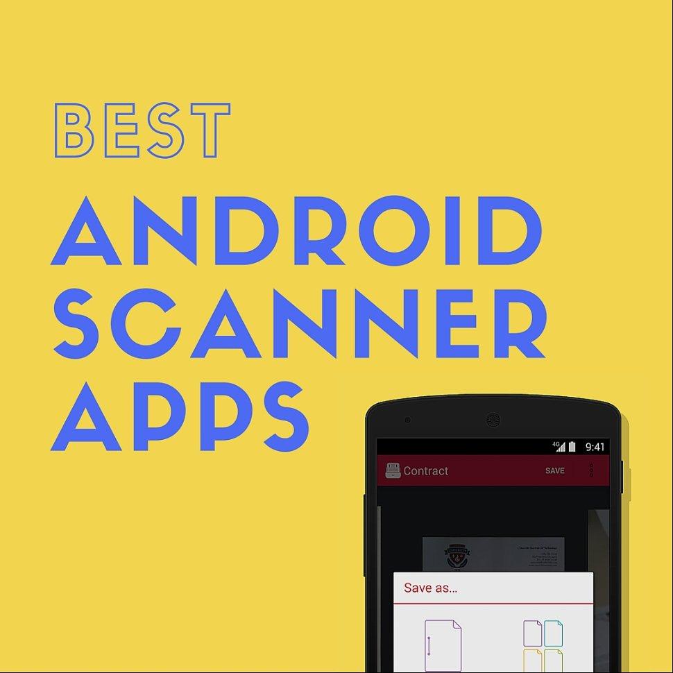 best android scanner apps in 2018. Black Bedroom Furniture Sets. Home Design Ideas