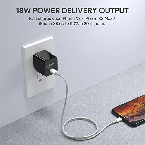 Aukey 18 W Power Delivery Wall Charger PA-Y18
