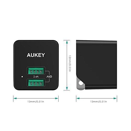 AUKEY Home Travel 2-Port (2.4A, 12W)
