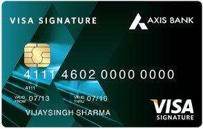 Axis Bank Signature