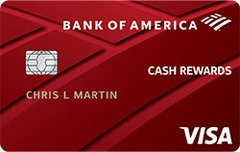 Bank of America® Cash Rewards Secured