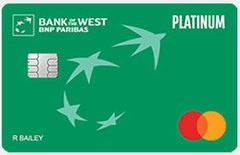 Bank of the West Platinum Mastercard® Credit Card