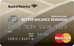 BankAmericard Better Balance Rewards Credit Card