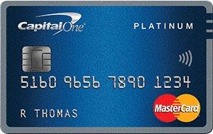 Capital One® Platinum Mastercard®