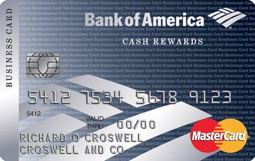 Cash Rewards for Business MasterCard credit card