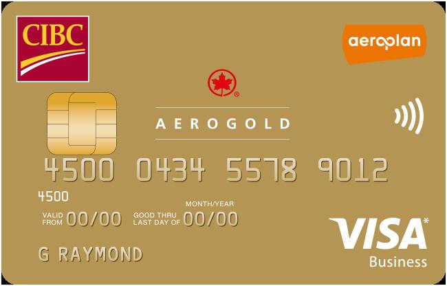 CIBC Aerogold® Visa for Business