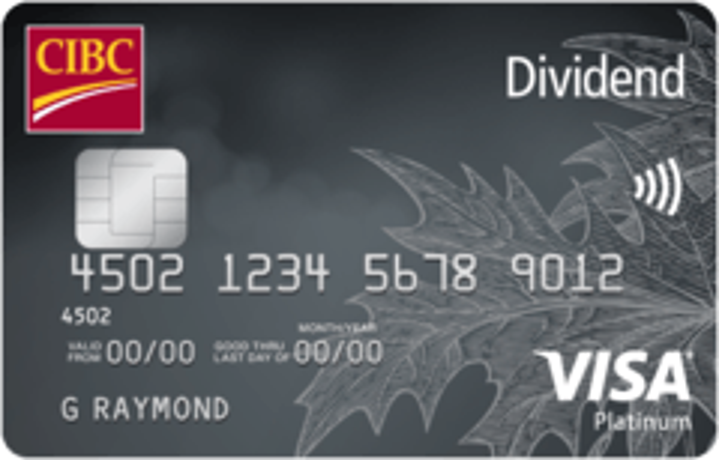 CIBC Dividend Platinum® Visa Card
