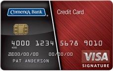 Comerica Visa Bonus Rewards Card
