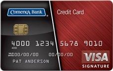 Comerica Visa Bonus Rewards Plus Card