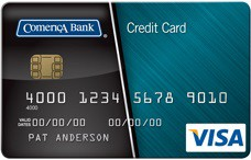 Comerica Secured Visa® Card