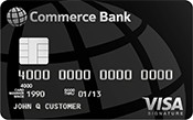 Commerce Bank Visa Signature Credit Card