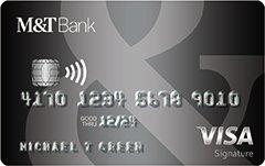 M&T Visa Signature® Credit Card