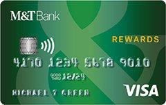 M&T Visa® Credit Card with Rewards