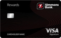 Simmons Rewards Visa Signature®