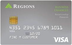 Regions Visa® Business Enhanced Credit Card