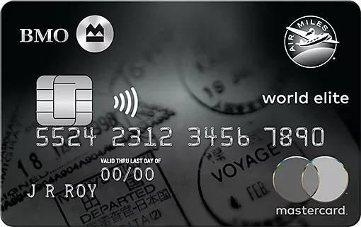 BMO® Air Miles® World Elite® Mastercard®