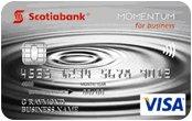 Scotia Momentum for business Visa