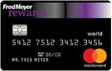 Fred Meyer Rewards® World Mastercard®