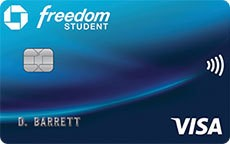 Chase Freedom® Student credit card