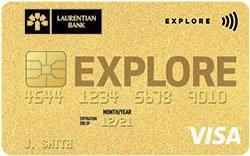 Laurentian Bank Visa Explore