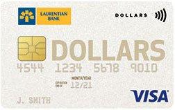 Laurentian Bank Visa Dollars