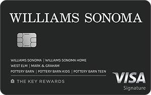 Williams Sonoma Key Rewards Visa
