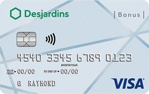 Desjardins Bonus Visa