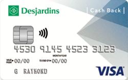Desjardins Cash Back Visa