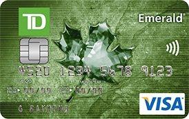 TD Emerald Visa Card