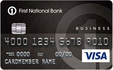 First National Bank of Omaha Business Edition® Visa® Card