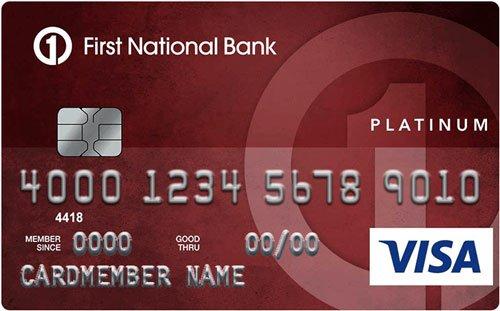 First National Bank of Omaha Platinum Edition® Visa® Card