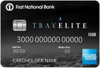 First National Bank of Omaha TravElite American Express Card