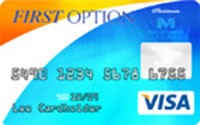 First Option Bank Visa® Platinum Credit Card