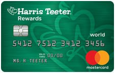 Harris Teeter Rewards World Mastercard®