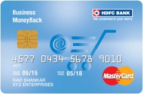 HDFC Bank Business MoneyBack Mastercard