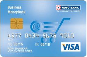 HDFC Bank Business MoneyBack Visa