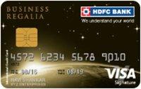 HDFC Bank Business Regalia Visa