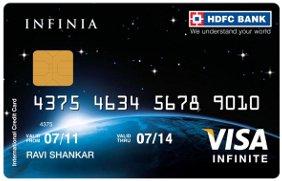 HDFC Bank Infinia Visa Card