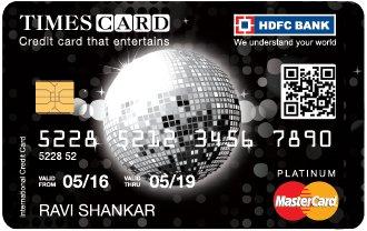 HDFC Bank Platinum Times
