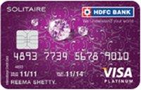 HDFC Bank Solitaire Visa