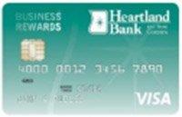 Heartland Bank Visa Business Rewards Credit Card