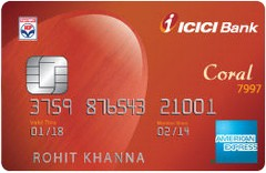 ICICI Bank HPCL Coral American Express