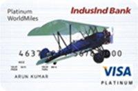 IndusInd Bank WorldMiles