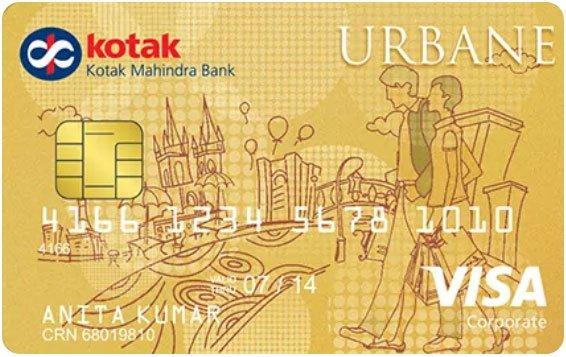 Kotak Bank Urbane Gold