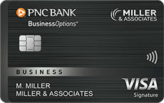 PNC BusinessOptions® Visa Signature®