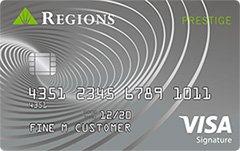 Regions Prestige Visa® Signature Credit Card