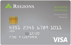 Regions Visa® Business Enhanced Credit Card