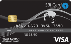 SBI Corporate Purchase Card