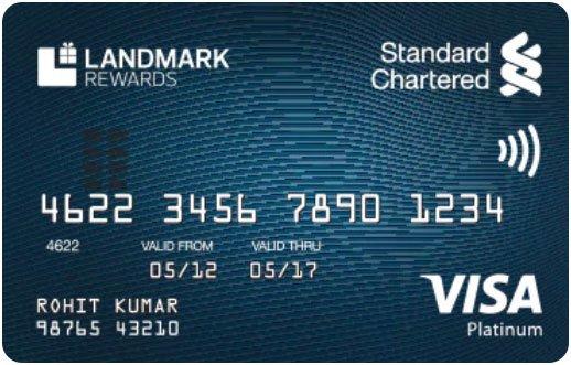 Standard Chartered Landmark Platinum Rewards