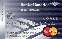 Travel Rewards World MasterCard for Business credit card